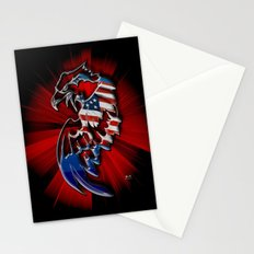 Patriotic Eagle Stationery Cards