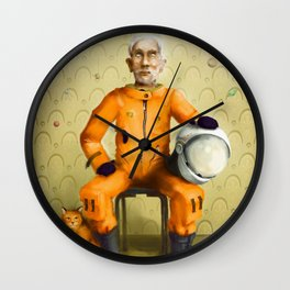 _still dreaming Wall Clock
