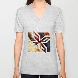 Parrot Mosaic Unisex V-Neck