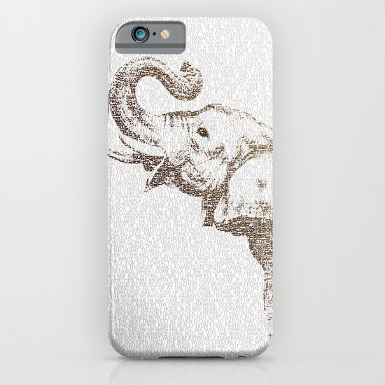 The Wisest Elephant iPhone & iPod Case