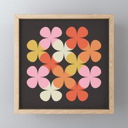 Clovers Framed Mini Art Print