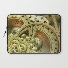Industrial Steam Punk Cogwheels Laptop Sleeve