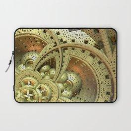 Industrial Steam Punk Cogwheels Laptop Sleeve