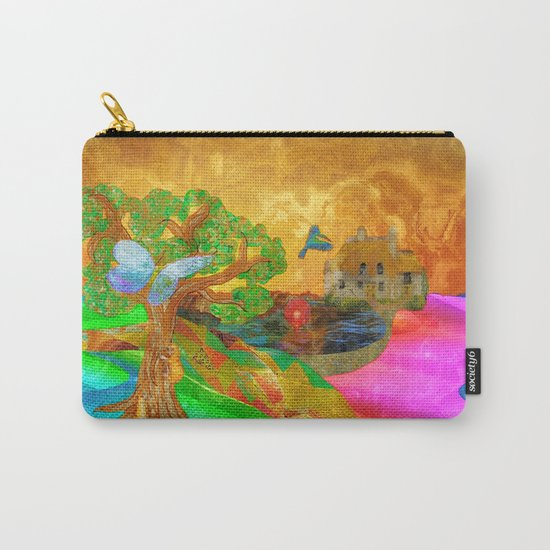 Let color bring you smiles as you walk lifes many miles Carry-All Pouch