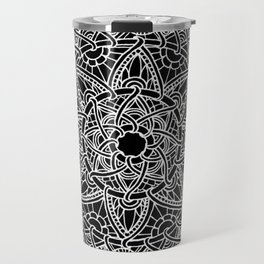 Family: forever intertwined (black) Travel Mug
