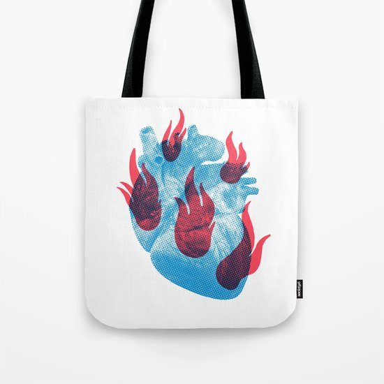 Heart in flames by kionedesigns