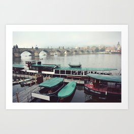 Charles Bridge, Prague Art Print