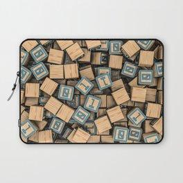 Binary blocks Laptop Sleeve