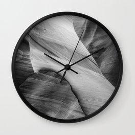 Antelope Canyon 3 Wall Clock