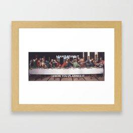 The Last Sabotage Framed Art Print