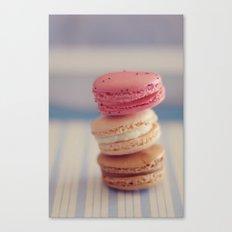Macarons Canvas Print