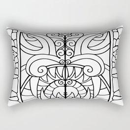 Threshold Guardian Rectangular Pillow