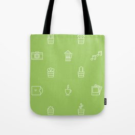 We're keen on green Tote Bag