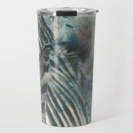 Furious Zebra Travel Mug