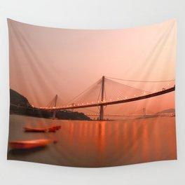 Hong Kong–Zhuhai–Macau Bridge Wall Tapestry