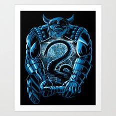 Son of Odin Art Print