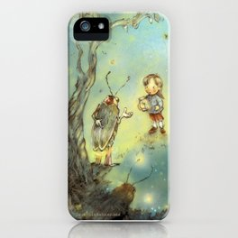Firefly Forest iPhone Case
