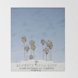 York BLVD | Highland Park | Los Angeles Throw Blanket