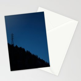 Mtn. Power Lines Stationery Cards