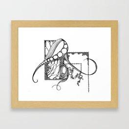 Nervous Brier Framed Art Print