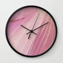 Spring CloseUp Wall Clock