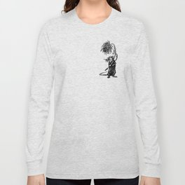 Rat with flower #1 Long Sleeve T-shirt