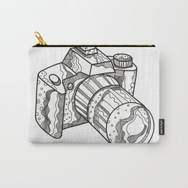 DSLR Camera Doodle Art Carry-All Pouch