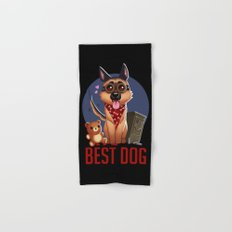 Best Dog Hand & Bath Towel