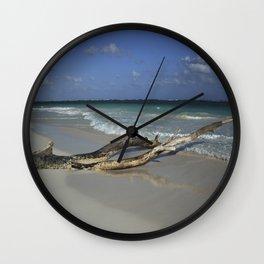 Carribean sea 14 Wall Clock