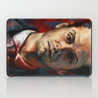 moriarty iPad Cases featuring James Moriarty by Alice X. Zhang