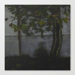 La sombra Canvas Print