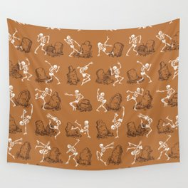 Dancing on the Graves (Halloween Edition) Wall Tapestry