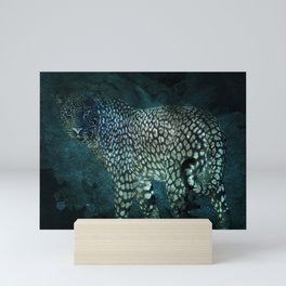 Midnight Jaguar Mini Art Print