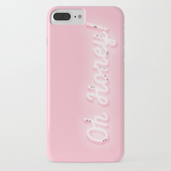 oh honey! 'neon' sign iphone case