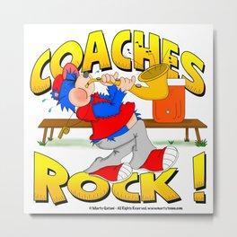 Coaches Rock Metal Print