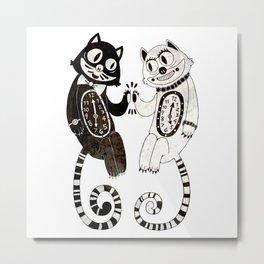 Tick 'n Tock Metal Print