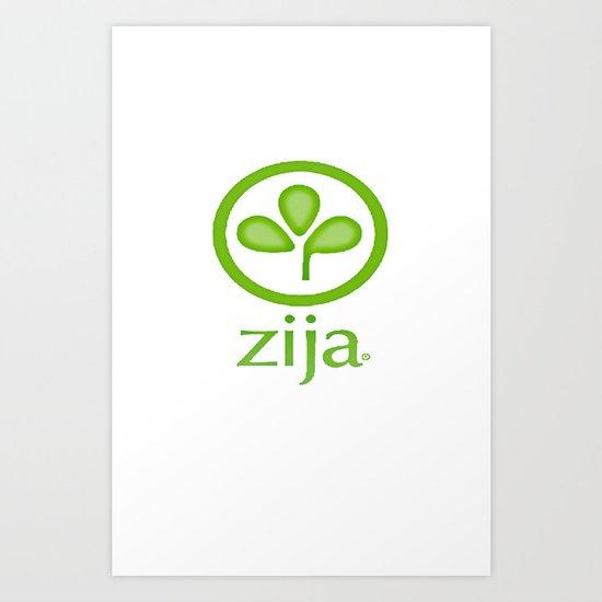 Zija Art Print