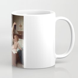 """William-Adolphe Bouguereau """"The Bunch Of Grapes"""" Coffee Mug"""