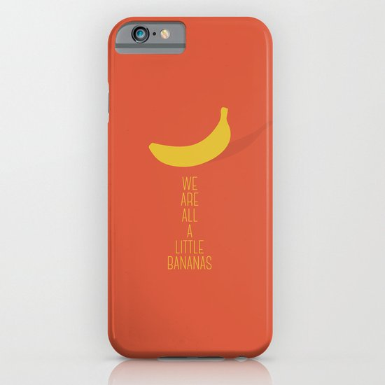 Bananas iPhone & iPod Case