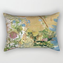 Desert Flowers Rectangular Pillow