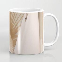 Palm Leaf Decoration Coffee Mug