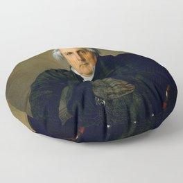 """Jean-Auguste-Dominique Ingres """"Monsieur Bertin"""" Floor Pillow"""