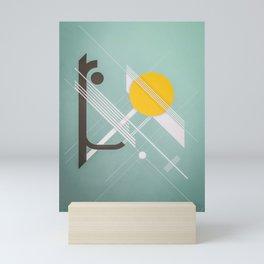 le bourget Mini Art Print