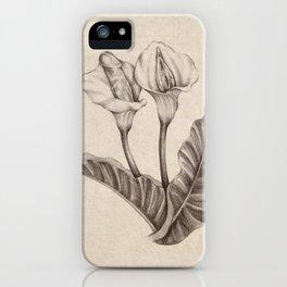 Born Flowers iPhone Case