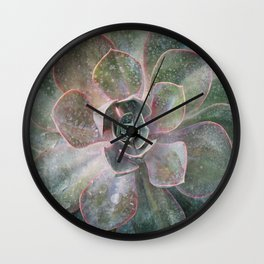 Succulant Wall Clock