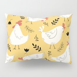 Lovely Little Hens Pillow Sham