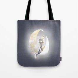 Lunatic cat Tote Bag
