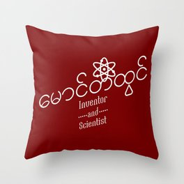 Maung Tee Htwin Throw Pillow