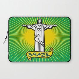 Christ the Redeemer statue in Rio de Janeiro, Brazil Laptop Sleeve