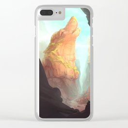 Howls Peak Clear iPhone Case